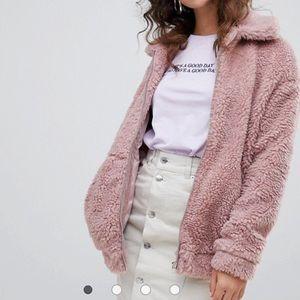 Jackets & Blazers - Daily look faux fur bomber jacket